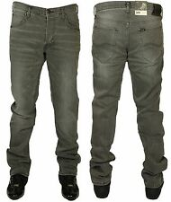 MENS LEE JEANS DAREN REGULAR SLIM IN WORN GREY COLOUR JEANS 28 TO 36
