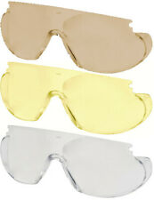 Uvex 9195 Replacement Lens For Skyper Glasses Anti-Scratch Brown Clear or Amber