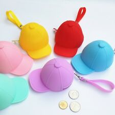 Hat silicone zero wallet  1pcs bag coin Candy color novelty purses coin wallets