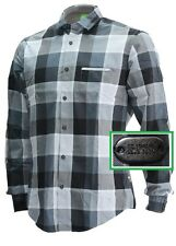 NWT Hugo Boss Green Label By Hugo Boss Modern Fit Plaid Long-Sleeve Shirt Size M