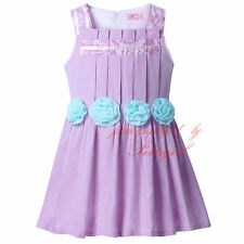 Flower Girl Princess Dress Toddler Kids Pageant Wedding Party Holiday Dresses