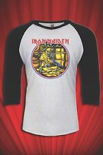 Iron Maiden 1983 Vintage Tee Tour jersey T-SHIRT Piece of Mind