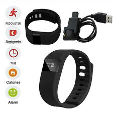 TW64 Bluetooth Smart Bracelet Sport Watch Step Calorie Counter Pedometer Tracker