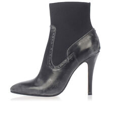 MAISON MARTIN MARGIELA MM22 New Woman black Pumps Heel boots Shoes Made Italy