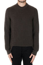 MARTIN MARGIELA MM14 New Men brown Pullover Knit Sweater Wool Blend Made Italy