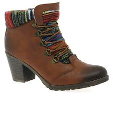 Rieker Caledonia Womens Lace Up Ankle Boots