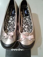 START-RITE ANGRY ANGELS DIVA PEWTER METALLIC  SHOES  RRP £35 JANUARY SALE £19.99