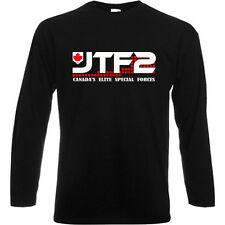 JTF2 Canadian Special Ops Force Army Long Sleeve Black T-Shirt Size S to 3XL