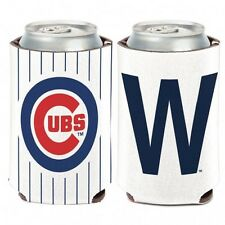 "MLB Chicago Cubs ""W"" Wincraft 12 oz. Can Cooler NEW!"