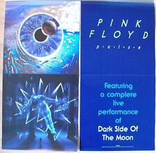 """Pink Floyd Pulse Promo Double-sided Flats 12"""" x 24"""" Roger Waters David Gilmour"""