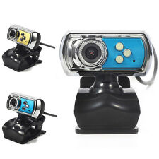 3LED USB2.0 HD Webcam Auto Focus Camera Web Cam With Microphone For PC Laptop