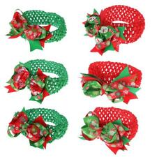 Christmas Gift Toddler Girls Hair Band Flower Headband Crochet Hair Accessory