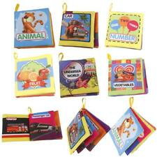 Safe Intelligence Development Cloth Cognize Book Educational Toy for Kids Baby