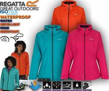 Regatta Jacket Womens Semita Waterproof Hiking Outdoor Lightweight Hoodie Top