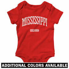 Mississippi Represent One Piece - Baby Infant Creeper Romper NB-24M - Jackson
