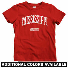 Mississippi Represent Kids T-shirt - Baby Toddler Youth Tee - Jackson Gulfport