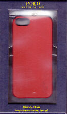 NIB POLO RALPH LAUREN HARDSHELL CASE COVER FOR IPHONE 5/5S LEATHER