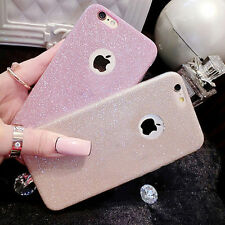 Luxury Glitter Clear Soft Silicone TPU Case Cover Skin for iPhone 6 6s/Plus 5s 7