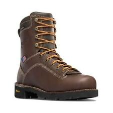 "Brand New Danner 17307 Men's Quarry USA 8"" Brown AT Work Boots"