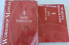 2007 Ford Lincoln Town Car Service Workshop Shop Repair Wiring Manual Book Set