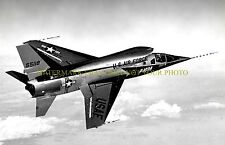 USAF F-107A Black n White Photo Military Aircraft jet Air Force Vet F 107