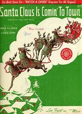 Santa Claus Is Comin' to Town by Haven Gillespie; J. Fred Coots