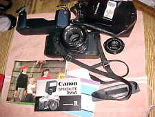 1984 Official OLYMPIC CAMERA  -  CANON T50  35mm - 50mm lens - Xtra Clean - BAG
