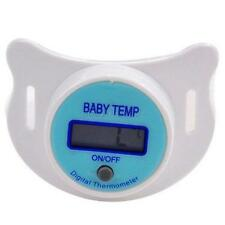 Baby Safety LCD Digital Thermometer Mouth Nipple Pacifier Temperature Healthy