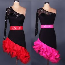 Latin Rumba Salsa Cha Cha Tango Samba Ballroom Competition Dance Evening Dress