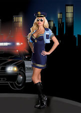 Dreamgirl USA 6511 Adult Officer Sheila B. Trouble Costume Police Cop Halloween
