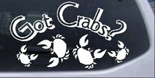 Got Crabs Car or Truck Window Laptop Decal Sticker Funny 10.6X6