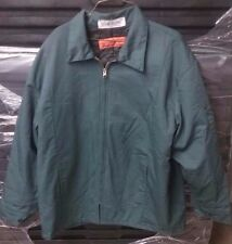 Nice Preowned Green Cintas Lined Uniform Work Jacket Coat 970-40