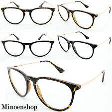 Women's Mens Vtg Geek Nerd Clear Lens Retro Cat EYE Erika Glasses Designer