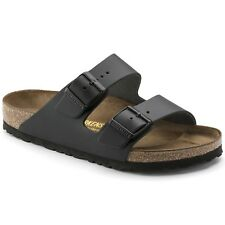 Birkenstock Smooth Leather Arizona $179.95rrp - Black 46 49 BNIB