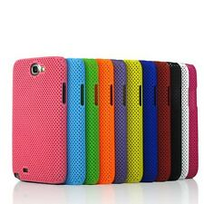 Hard Skin Perforated Mesh Back Case Cover For Samsung Galaxy Note 2 N7100 N7105