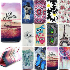 Fashion Lovely Cute Wallet Stand Flip PU Leather Soft TPU Cover Case For Wiko