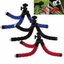 Mini Flexible Tripod Sponge Octopus Stand For Gopro Camera Canon Nikon /SLR/ DV