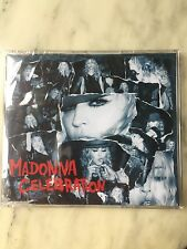 "MADONNA ""CELEBRATION"" 6-TRACK EURO CD REMIX FACTORY SEALED"