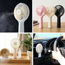 Portable Water Spray Misting Fan Indoor/Outdoor Cooling Mini Fan Air Conditioner