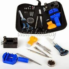 New Design Watch Repair Tools Set Fixing Watch Kit With Portable Case Repair Kit