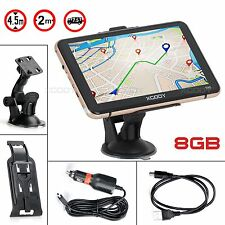 "XGODY 7"" Lifetime Maps Truck Car GPS Navigation Capacitive Navigator SAT NAV 8GB"