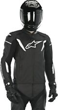 Alpinestars 15' GP-R Perforated Leather Motorcycle Jacket Black/White