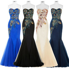 FloorLength Mermaid Ball Gown Evening Prom Party Dress Sweetheart Maxi Wedding