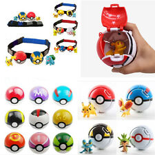Pokemon Pokeball Pop-up 7cm Cartoon BALL Pikachu Full Set Monster Toy Kids