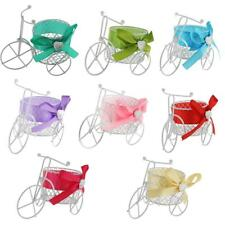White Tricycle Wedding Party Gift Box Favors Metal Candy Chocolate Decoration