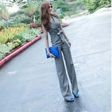 Women Temperament Show Thin Jumpsuits Rompers Wide Leg