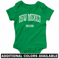 New Mexico Represent One Piece - Baby Infant Creeper Romper NB-24M - Albuquerque