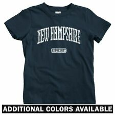 New Hampshire Represent Kids T-shirt - Baby Toddler Youth Tee  Gift UNH Wildcats