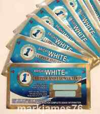 1 HOUR PROFESSIONAL EXPRESS BEST TEETH WHITENING STRIPS ENAMEL SAFE STRONG WHITE