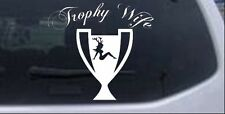 Hunting Trophy Wife Decal Car or Truck Window Laptop Decal Sticker 6X5.5
